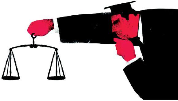 El problema de la justicia: es su falibilidad lo que la hace humana (Ilustración: Víctor Aguilar)