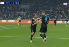 Con centro de Arturo Vidal: Edin Dzeko anotó el 1-0 del Inter vs. Sheriff |VIDEO
