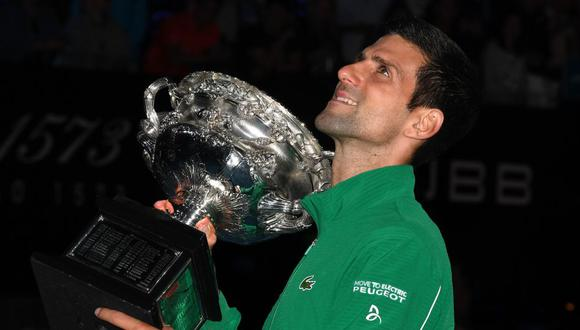 Novak Djokovic aplaudió que los Juegos Olímpicos se hayan suspendido ante la pandemia por coronavirus. (Foto: AFP)