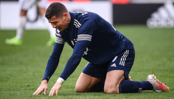 Cristiano Ronaldo sigue siendo el punto de las críticas por parte de Antonio Cassano. (Foto: AFP)