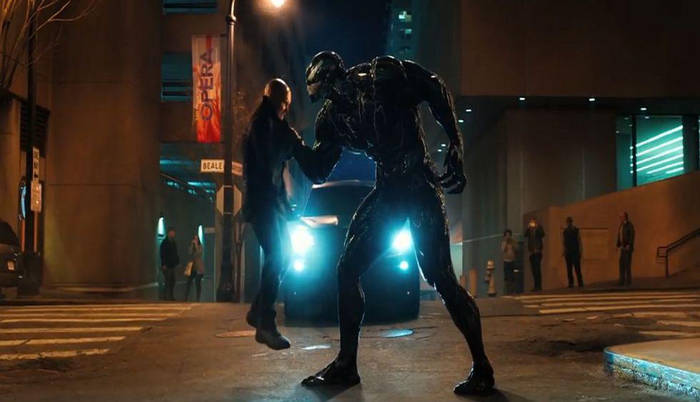 Venom llega los cines el 5 de octubre del 2018. (Foto: Captura de pantalla)