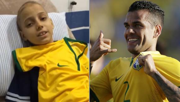 El mensaje de Dani Alves a un niño que padece leucemia