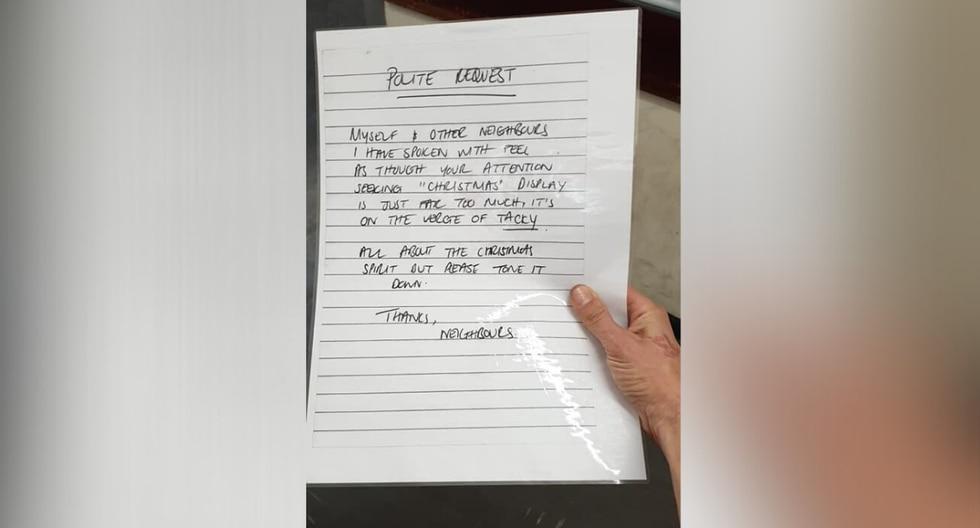 Al dueño de la vivienda no le importó gastar más de la cuenta para darle una lección a sus vecinos. (Foto: Billy Morgan en Facebook)