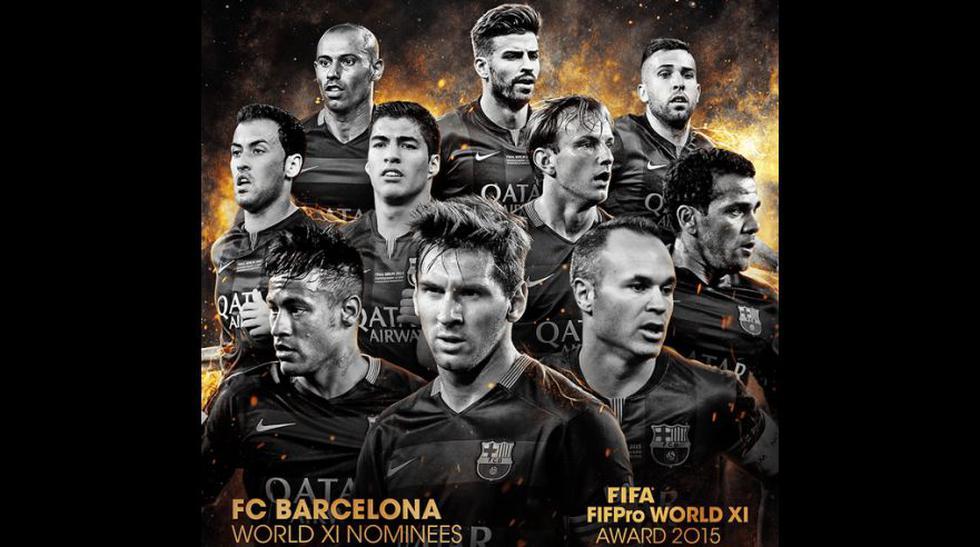 Equipo ideal FIFA: los 55 seleccionados y sus clubes (FOTOS) - 4