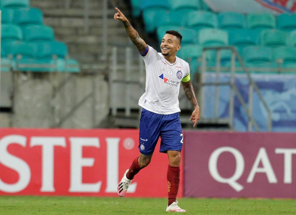 Bahía enfrentó a Melgar por la Copa Sudamerica