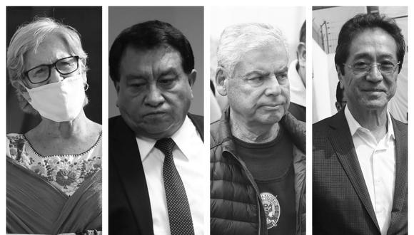 Investigados salieron de prisión durante la pandemia, luego de que el Poder Judicial aceptara su pedido y ordene arresto domiciliario (Fotos: Grupo El Comercio).