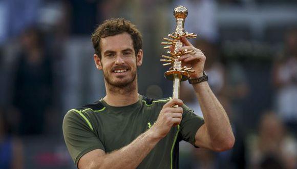 Murray superó a Nadal y ganó el título del Masters de Madrid