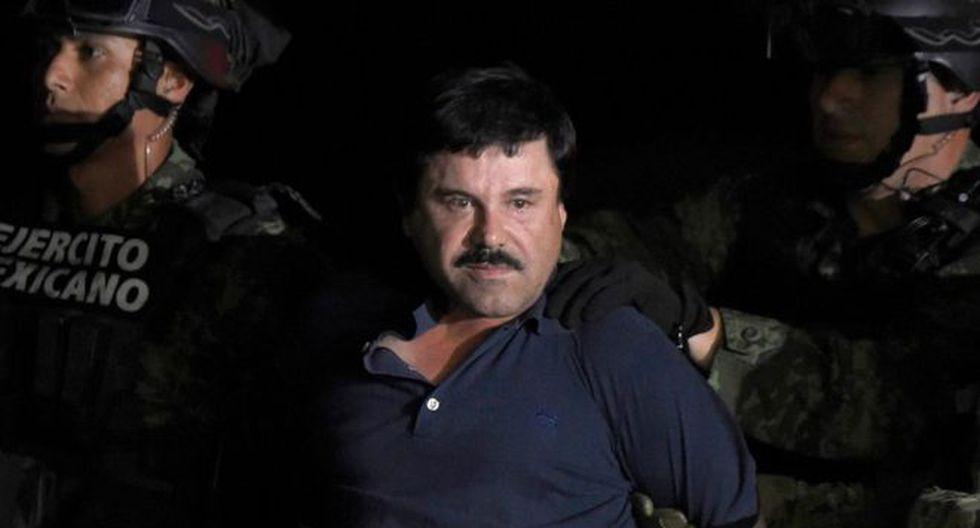 'El Chapo' Guzmán puede recibir cadena perpetua si es hallado culpable. (Foto: AFP)
