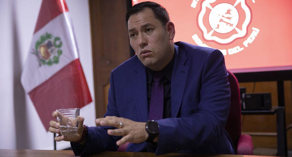 Charles Hallenbeck es el titular de la Intendencia Nacional de Bomberos del Perú desde noviembre del 2018 (El Comercio)