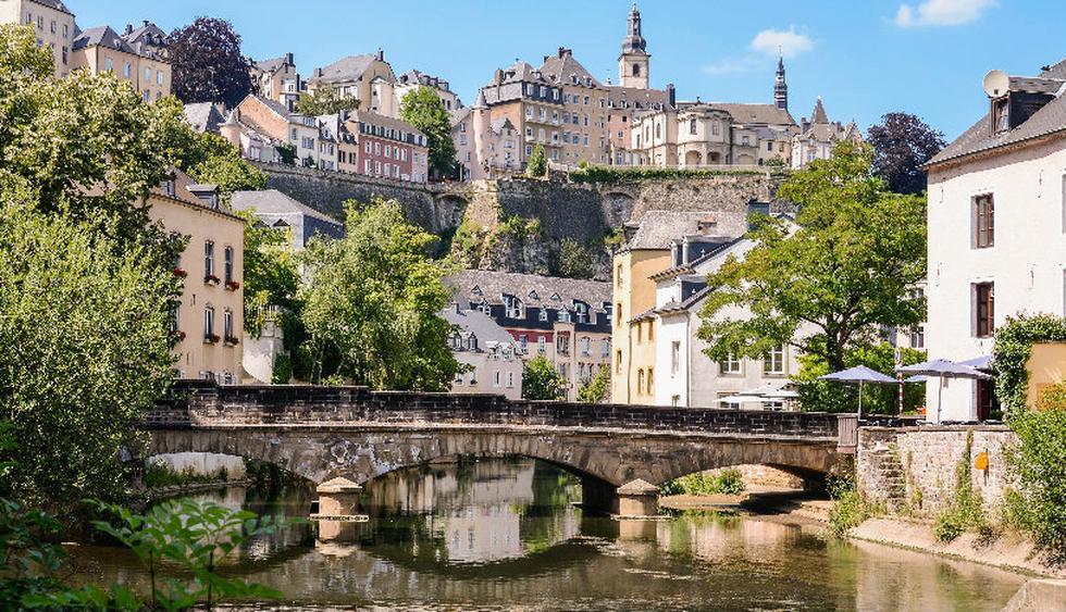 El puente del castillo de Luxemburgo conecta el Boulevard Real con la Avenida de la Liberté. (Foto: Shutterstock)