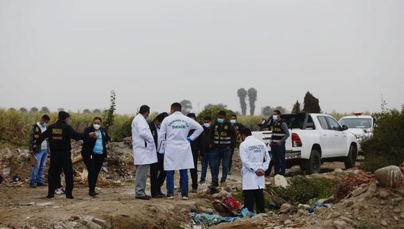 El pasado 20 de octubre fue hallado cuerpo cercenado de un hombre aún no identificado en Puente Piedra. (Foto: Cesar Grados/@photo.gec)
