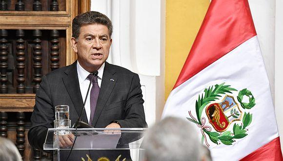 El canciller Meza-Cuadra también tiene previsto reuniones con autoridades del Departamento de Estado de EE.UU. (Foto: Cancillería)