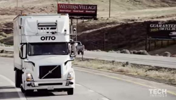 La compra de Otto le habría costado a Uber unos 680 millones de dólares, permitiéndole brindar soluciones de transporte en apenas cinco horas. (Youtube)