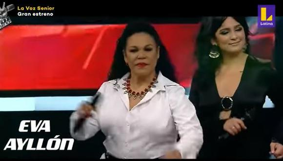 """""""La Voz Senior"""": Los entrenadores abrieron la temporada con un mix de sus canciones. (Foto: captura de video)"""