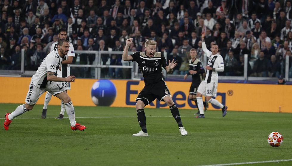 Juventus vs. Ajax: mejores imágenes del partido. (Foto: AFP)