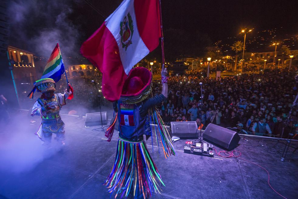 Uchpa, el grupo de rock peruano que reivindica el quechua en sus letras. FOTOS: Fidel Carrillo.