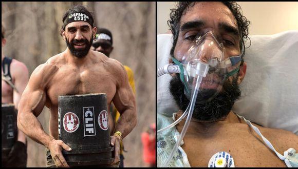 Coronavirus USA | Ahmad Ayyad | Con daños en el corazón, en los pulmones y 27 kilos menos: así afectó el coronavirus a un hombre deportista en Estados Unidos. Fotos: hopkinsmedicine.org