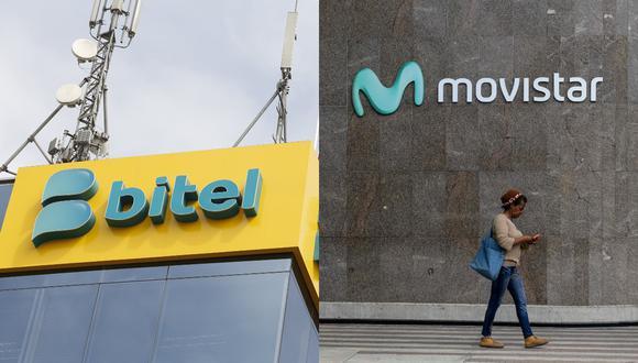Osiptel confirmó multas impuestas a Movistar y Bitel por incumplir normas del reglamento del servicio de portabilidad. (Foto composición: GEC / AFP)