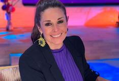 """""""Me dijeron regresas o te despido"""", el mensaje que recibió Rebeca Escribens para volver a la TV"""