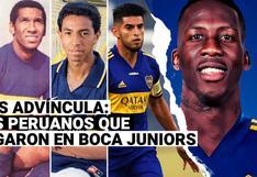 Luis Advíncula a Boca Juniors: recuerda a todos los peruanos que jugaron en el 'Xeneize'