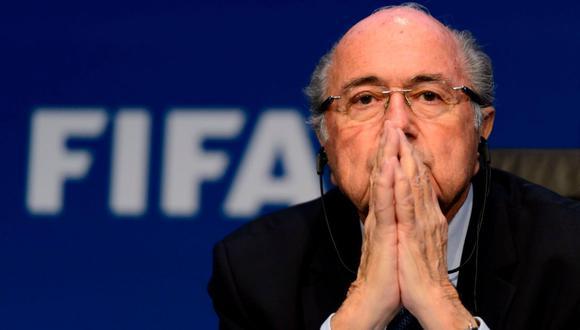 Blatter se recupera de complicada cirugía al corazón (Foto: AFP)