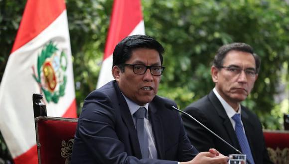 Vicente Zeballos resaltó el respaldo a los lineamientos de gestión al gobierno de Martín Vizcarra. (Foto: PCM)