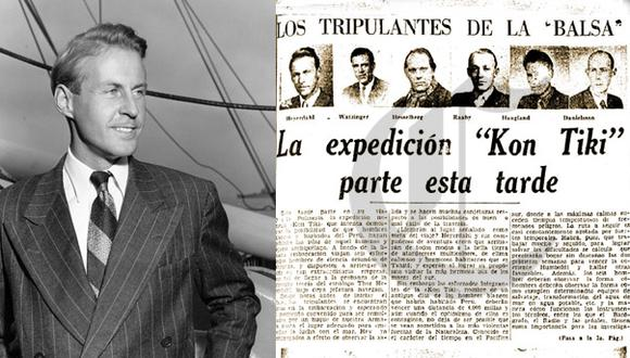 Así Ocurrió: En 1914 nace el explorador Thor Heyerdahl