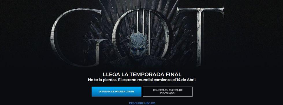 """HBO GO es gratis durante un mes. Solo debes registrarte para acceder al contenido de la plataformas, incluidas todas las temporadas de """"Game of Thrones"""" (Foto: HBO)"""