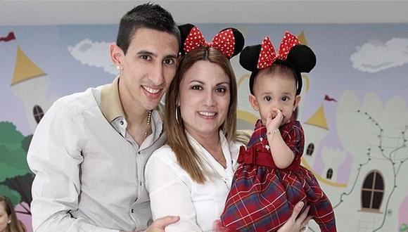 Esposa de Di María negó que su esposo quiera dejar Real Madrid