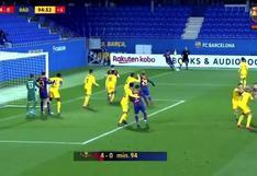 Álex Collado y el golazo olímpico en el Barcelona B que dejó sin reacción a arquero | VIDEO