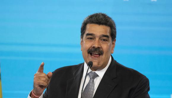 """Nicolás Maduro a la Unión Europea: """"O ustedes rectifican o con ustedes no hay más nunca ningún trato"""". (Foto: Yuri CORTEZ / AFP)."""