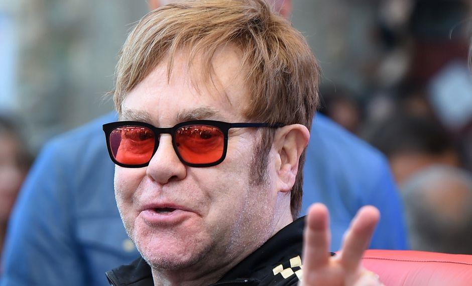 Elton John le rindió homenaje póstumo al rapero Mac Miller (26).  (Foto: AFP)