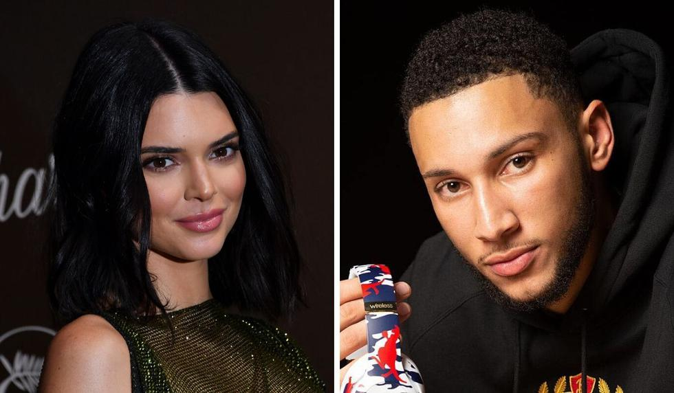 Kendall Jenner y Ben Simmons fueron vistos juntos. (AFP / @bensimmons)
