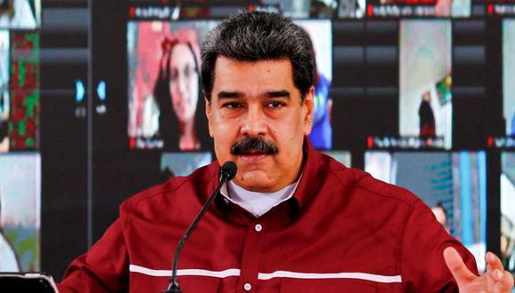 Nicolás Maduro, durante una reunión con miembros del Partido Socialista Unido de Venezuela (PSUV) en Caracas. (Foto: Presidencia venezolana /AFP / Jhonn Zerpa/ Archivo).