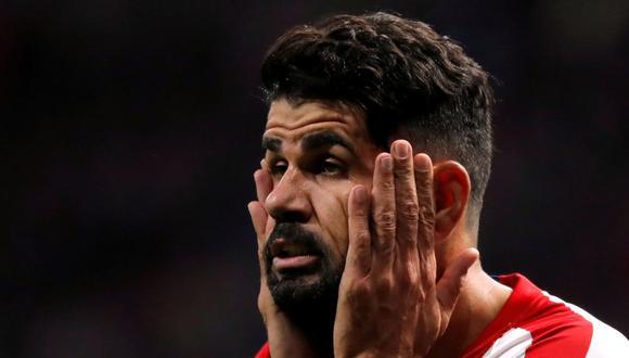 Diego Costa llegó al Atlético de Madrid en la temporada 2010-2011. (Foto: Reuters)