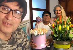 Fernando Armas se conmueve al hablar de su esposa que se contagió de COVID-19 [VIDEO]