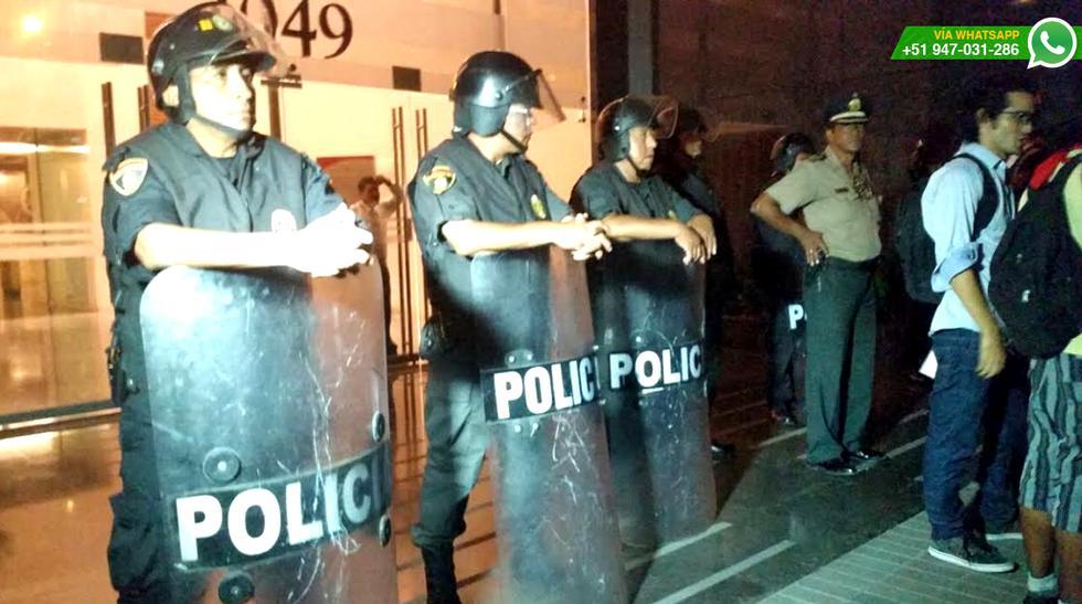 Realizan protesta frente a Yanacocha en apoyo a Máxima Acuña - 5