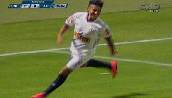 Universitario: Christofer Gonzales le anotó golazo a Alianza