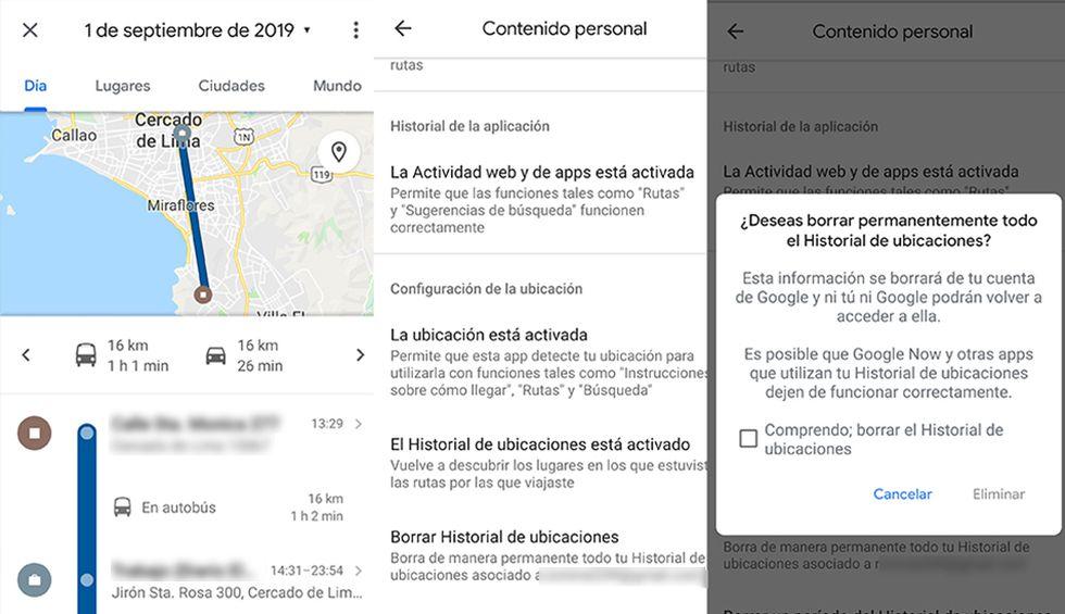 ¿Quieres evitar que Google Maps te persiga? Conoce cómo poder deshabilitar tu historial. (Foto: Google)