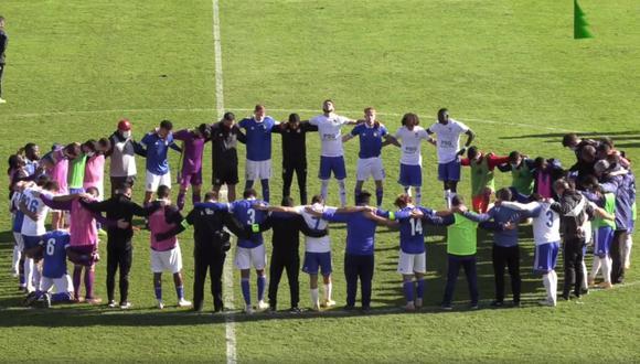 Susto en Portugal: jugador de la tercera división se desplomó en el campo por un paro cardíaco | VIDEO