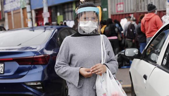 El uso de protector facial ya era obligatorio para el personal médico.(Foto: GEC)