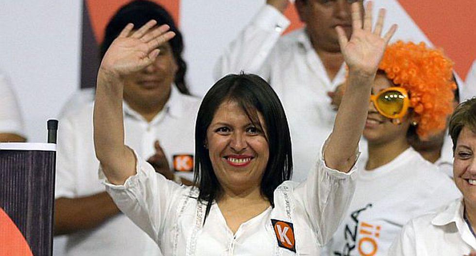 Presentan pedido de exclusión contra candidata Yeni Vilcatoma