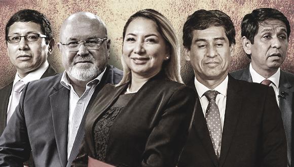 Durante los casi dos años que tiene el gobierno de Vizcarra, este ha tenido al menos cinco ministros implicados en pesquisas del Ministerio Público así como denuncias de la procuraduría. (Foto: El Comercio)