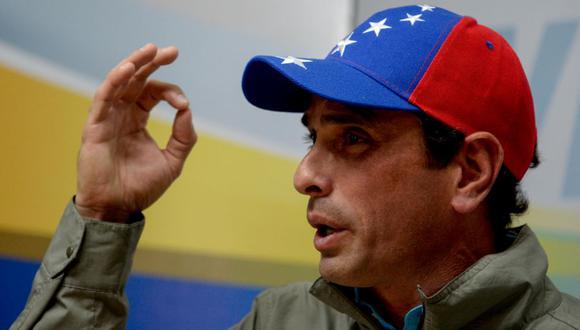 Henrique Capriles, líder de la oposición de Venezuela, en una imagen del 12 de junio del 2017. (Foto: FEDERICO PARRA / AFP).