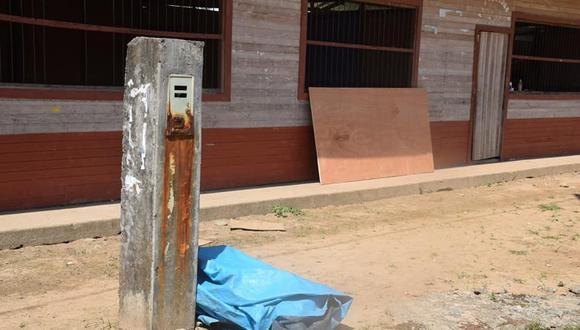 En la comunidad nativa Betania se instalaron medidores de luz y postes de energía eléctrica. Las obras de la minicentral no se ejecutaron. (Foto: Poblador de Betania)