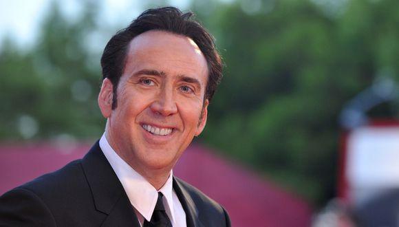 Nicolas Cage negocia interpretarse a sí mismo en una extraña metapelícula. (Foto: AFP)