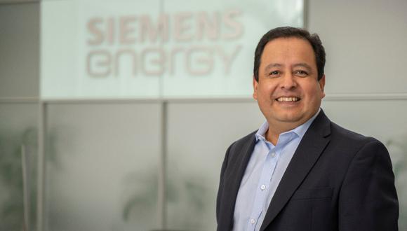 El hidrógeno será una solución a mediano plazo para generar energía en el Perú, señala John Prado, director gerente de Siemens Energy para Perú, Bolivia y Ecuador. (Foto: Siemens)