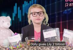 La niña de 3 años que usa peluches y caramelos para explicar qué es el bitcoin y cómo funciona