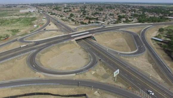 La Contraloría auditó el proyecto de la Autopista del Sol. (Foto: MTC)