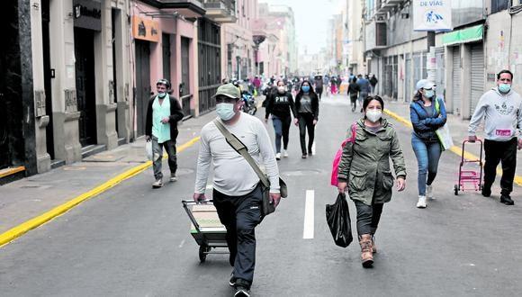 Jesús María, Independencia y San Miguel son algunos de los distritos de Lima que reportan incrementos de contagios de COVID-19. (Foto: Leandro Britto/ GEC)